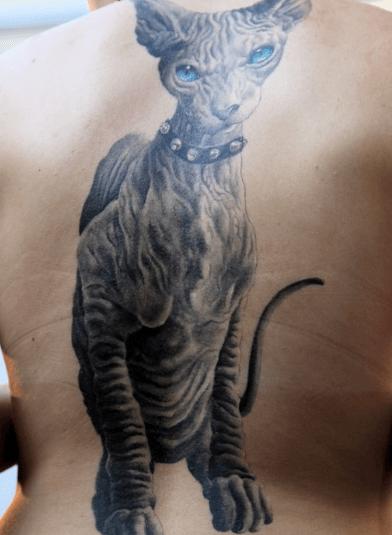 tattoo gatto3