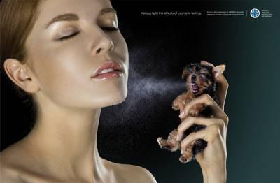 Effetti dei test cosmetici, Agenzia Lowe Pirella Fronzoni, Milano, Italia