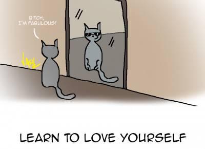 Impara ad amate te stesso @tessandlion