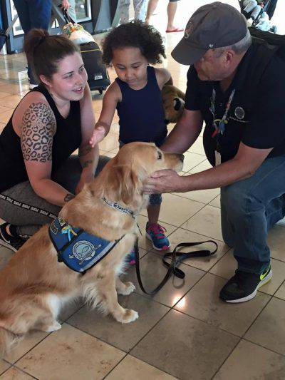 @Facebook LCC K-9 Comfort Dogs
