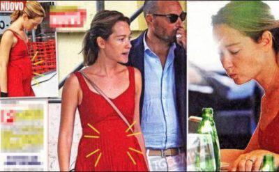 Cristiana Capotondi è incinta