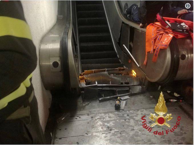 La stazione Metro Repubblica di Roma
