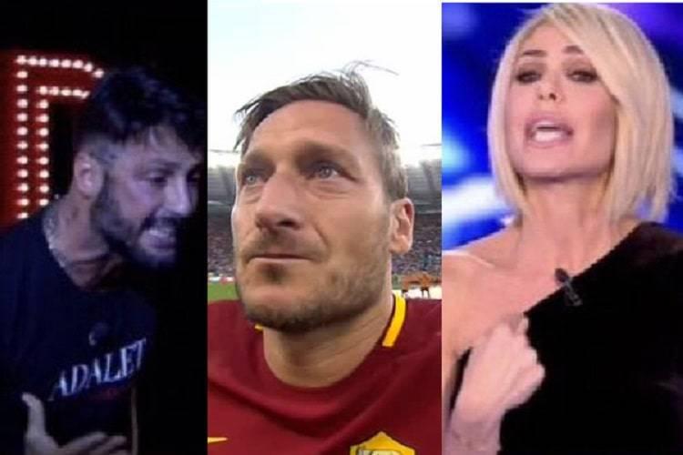 Francesco Totti, Scontro tra Blai e Corona
