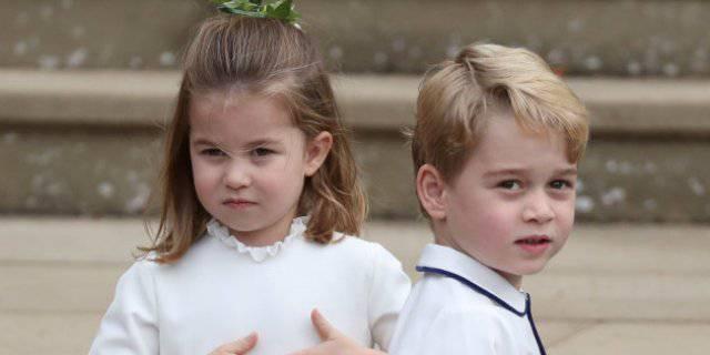George e Charlotte, come chiamano nonno Carlo