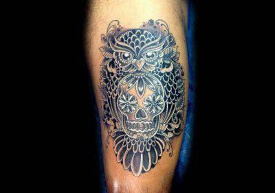 Gufo Il Significato Tra Miti E Leggende E Le Idee Per Un Tatuaggio Foto