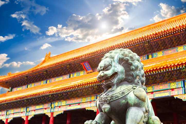 leone in Cina