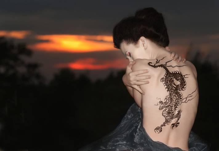 Tatuaggio drago