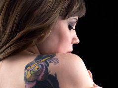 Gufo: tatuaggio
