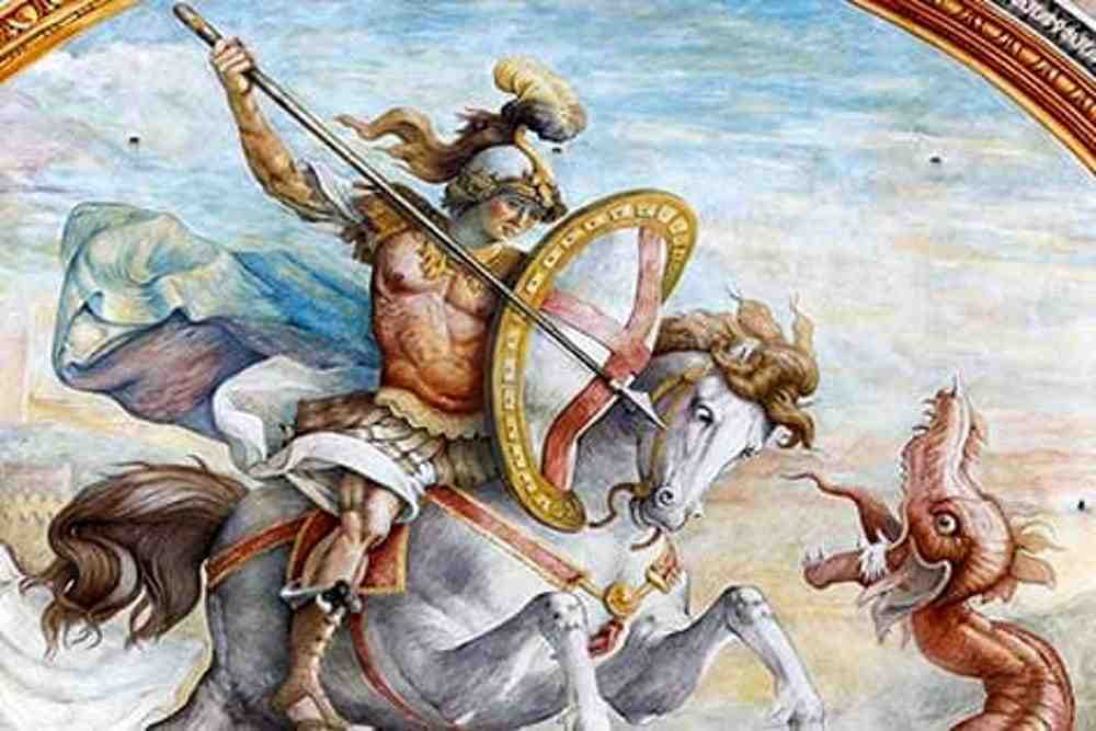 Drago contro San Giorgio