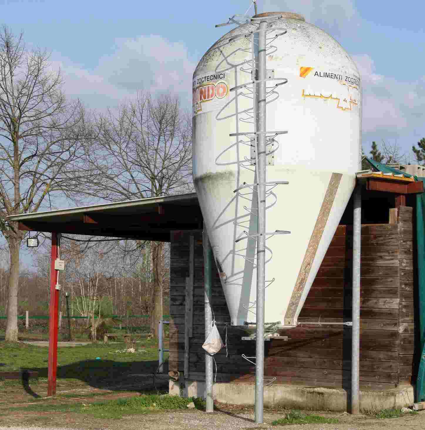 silos mangime animali