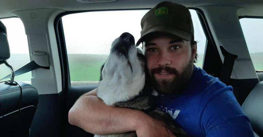 ritrova cane dopo quattro anni