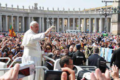 Udienza pubblica con il Papa
