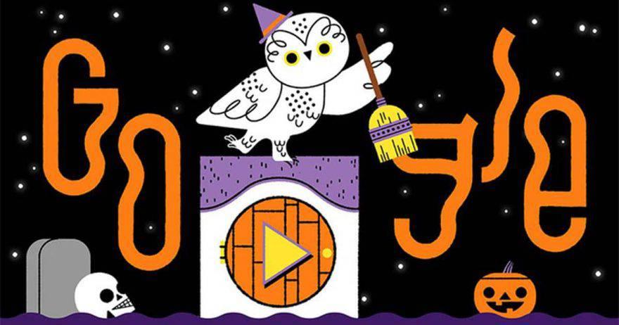 doodle halloween 2019