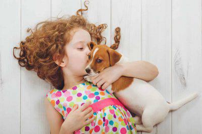 affetto coccole cucciolo