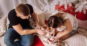 coppie adottano cane
