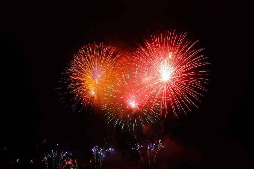 pericoli fuochi d'artificio