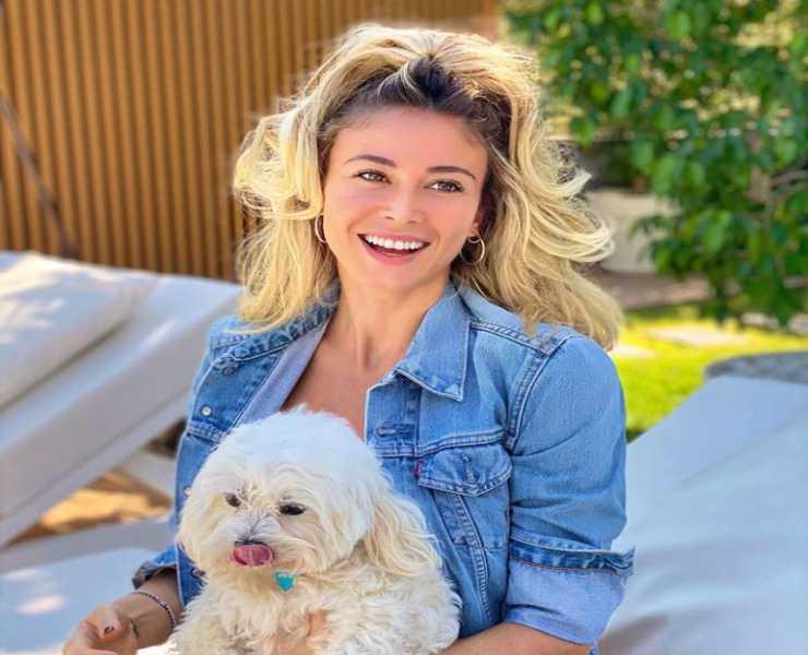 Leotta e il suo cane (Foto Instagram)