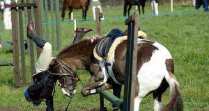 cadere da cavallo