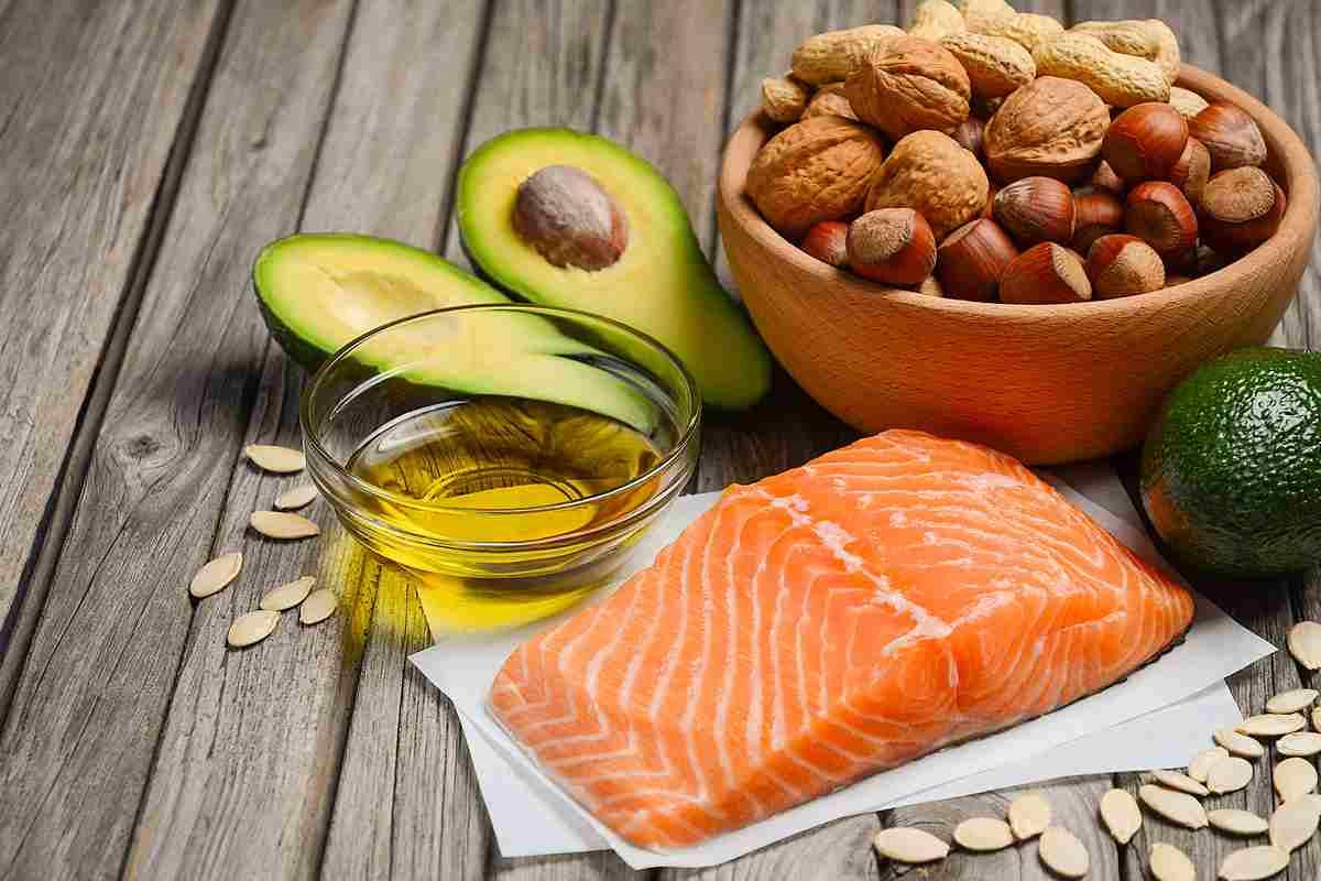 olio di pesce nel salmone