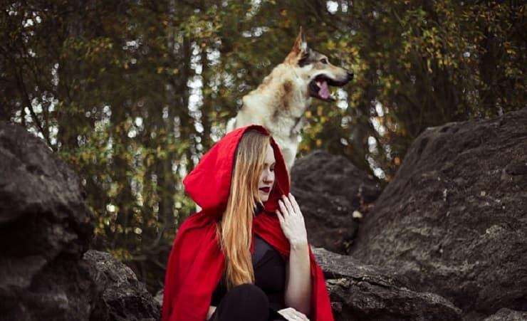 lupo e cappuccetto rosso