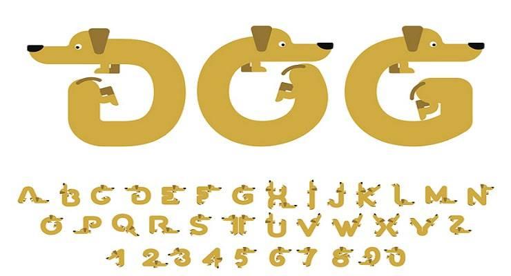 alfabeto nomi cani