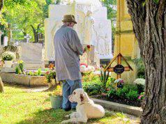 sepoltura cane