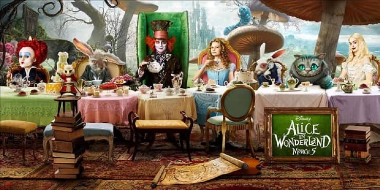 Animali in Alice in Wonderland