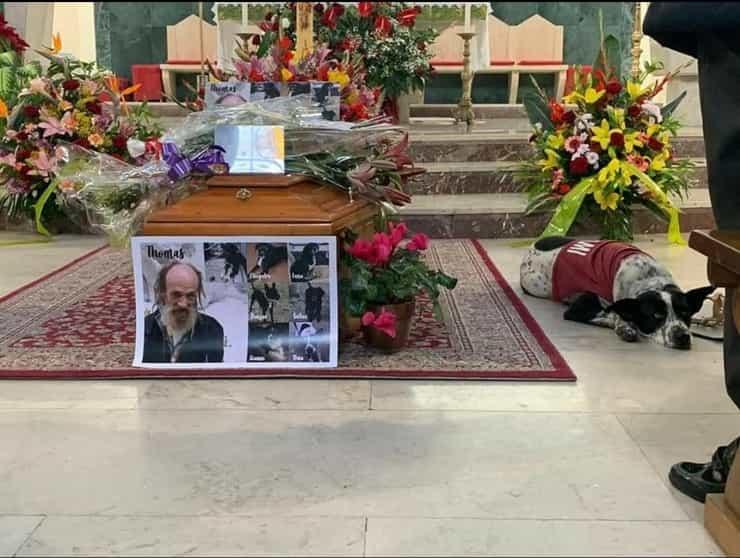 Funerale Clochard