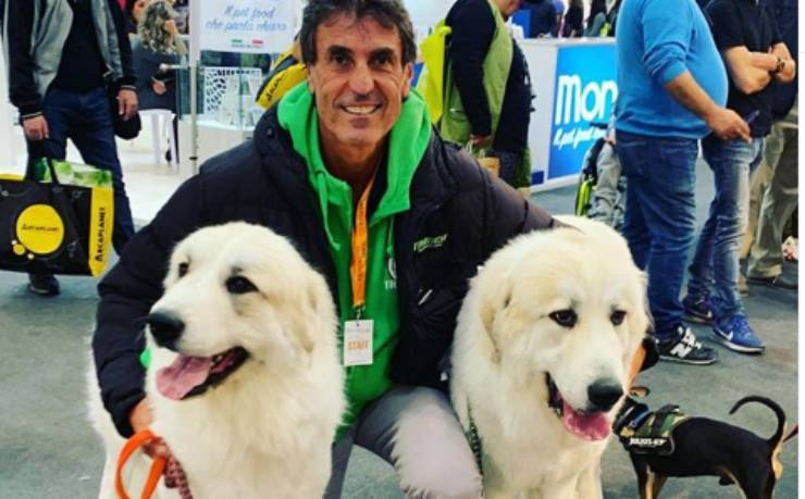 una cuccia in sospeso cani Federico Coccia