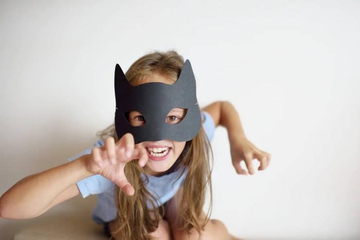 gatto maschera