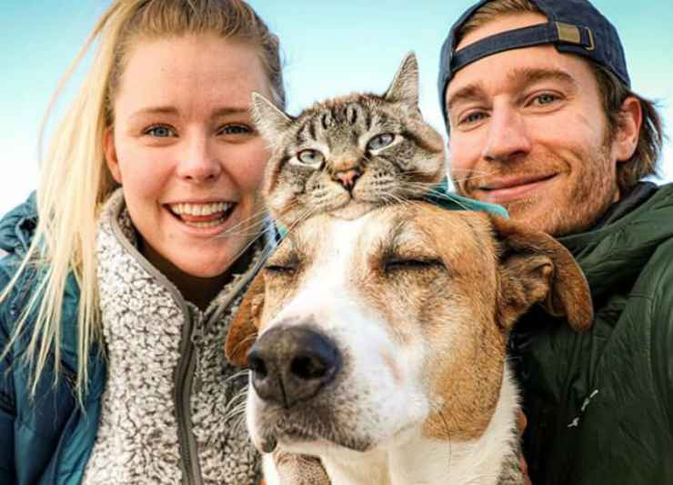 La famiglia al completo (Foto Instagram)
