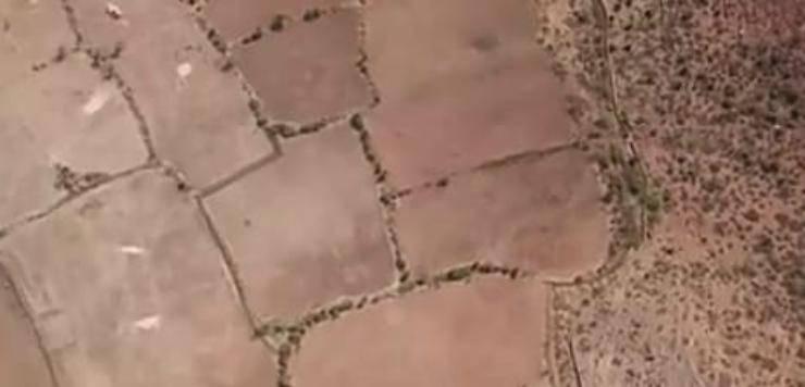 Il terreno arido (Foto video)