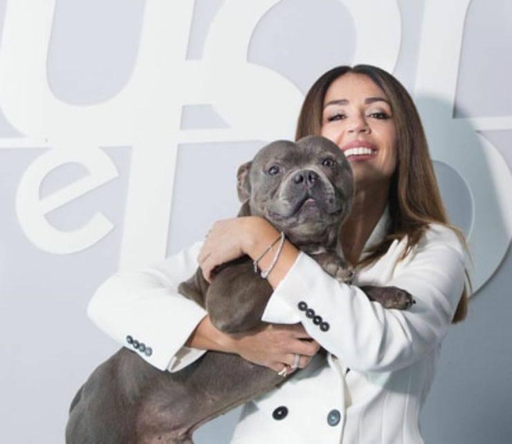 Saky il cane di Maria De filippi