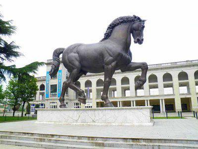cavallo leonardo sculture