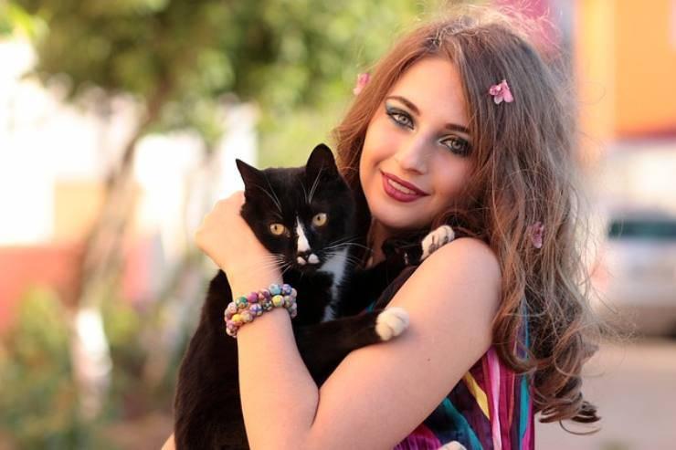 gatto e padrone