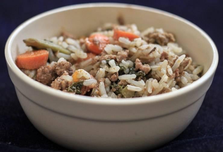 riso verdure slowcook