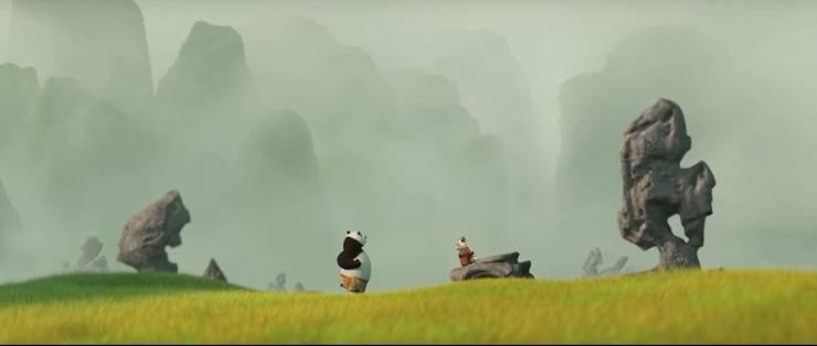Kung Fu Panda - panda -cartone