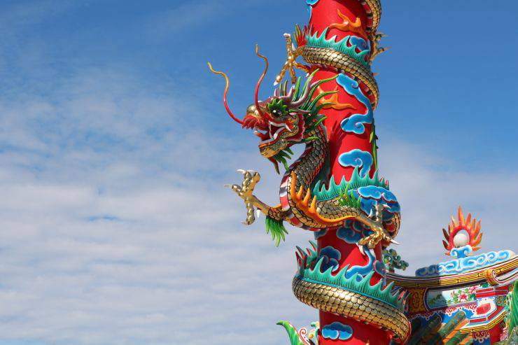 storia del drago