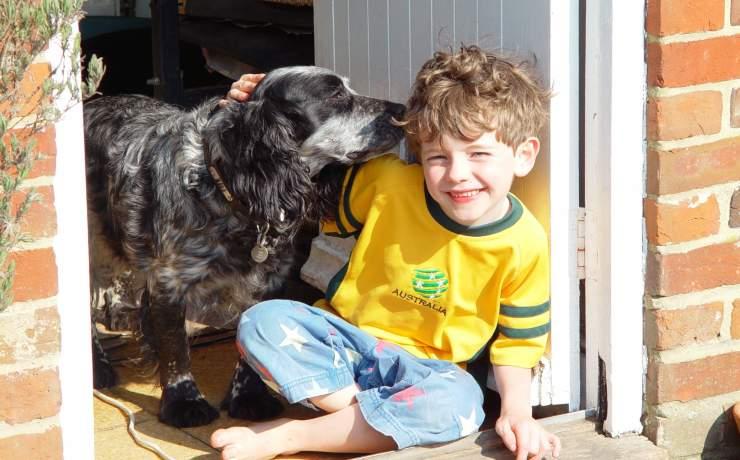 Bambini ritrovano cagnolina VIDEO