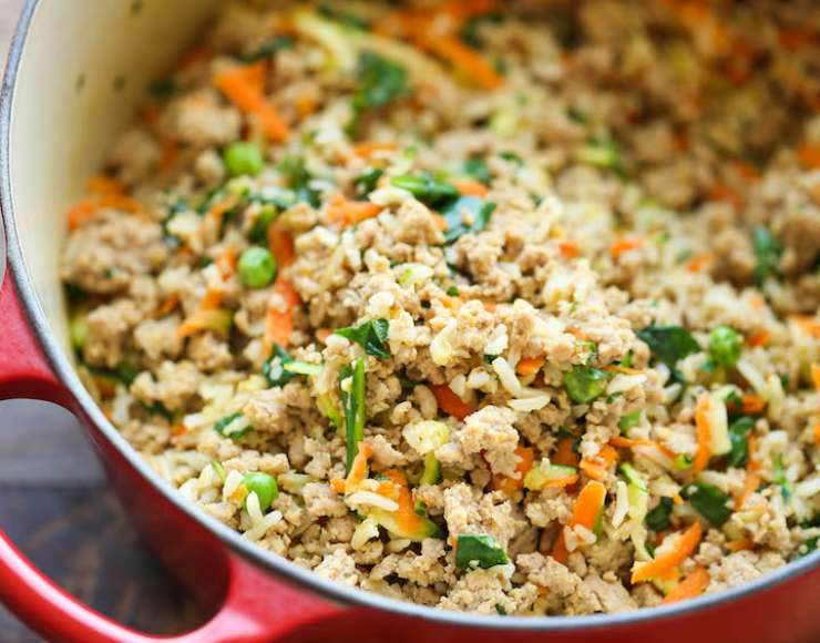 riso verdure cucina