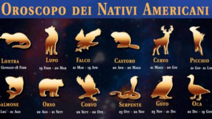 Oroscopo Pellerossa segno zodiacale animale