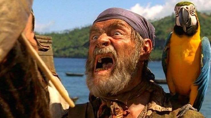cotton pirati dei caraibi