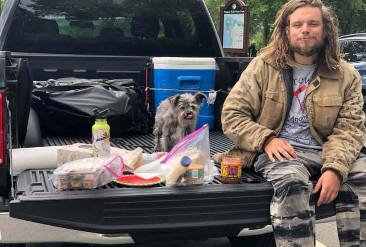 cane abbandonato proprietario