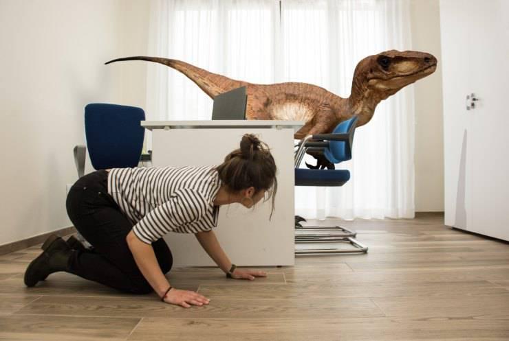 velociraptor dinosauro