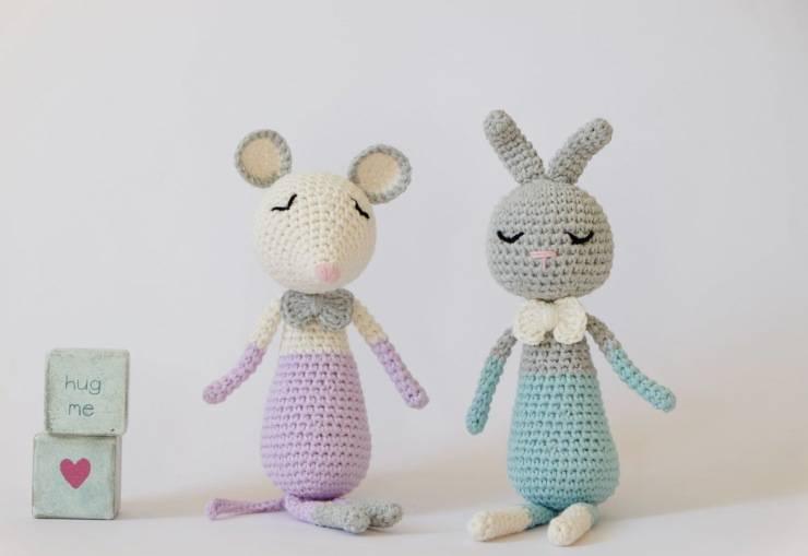 Avere in casa topolino e coniglio come animali domestici: pro e contro