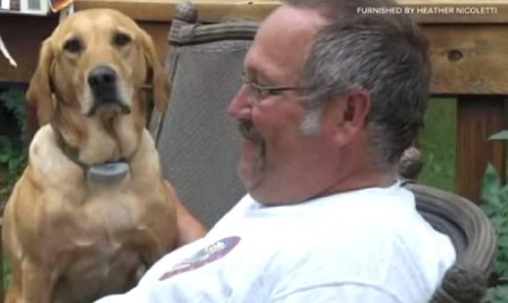 cane muore dopo decesso del padrone
