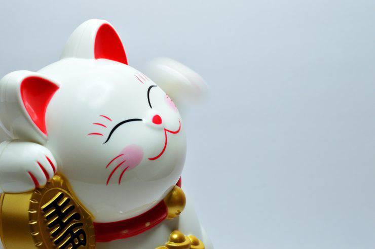Il gatto giapponese della fortuna