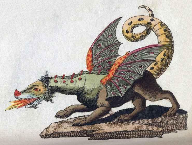 I draghi sono esistiti