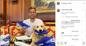 Arthur e il suo cane Tuntz