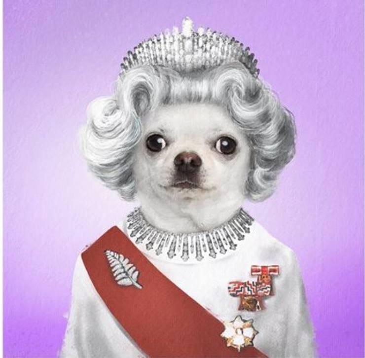 Queen Elisapet II